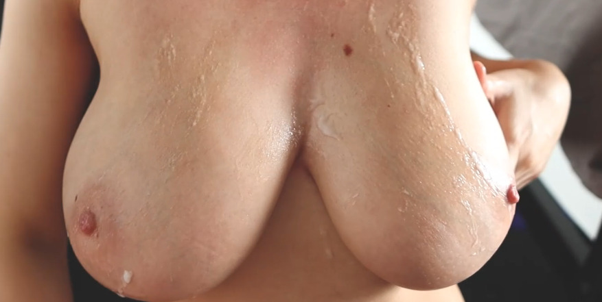 Wettmelons Nude Side Fucked and Titty Cumshot